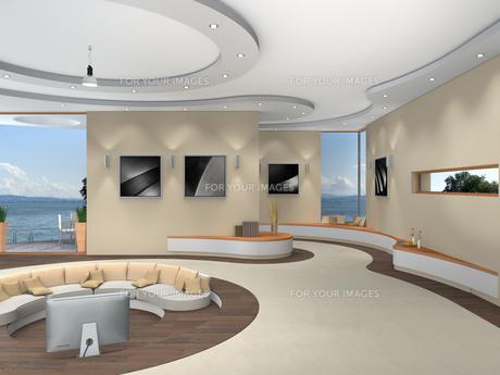 futuristic interior designの素材 [FYI00870274]