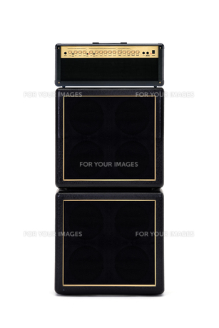 guitar amplifier full stackの写真素材 [FYI00870475]