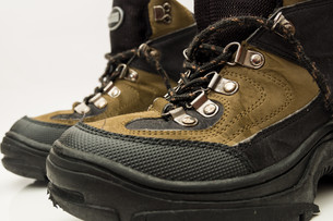 hiking bootsの写真素材 [FYI00870592]