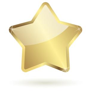 gold starの写真素材 [FYI00870638]