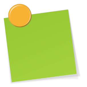stickies with magnetの写真素材 [FYI00870660]