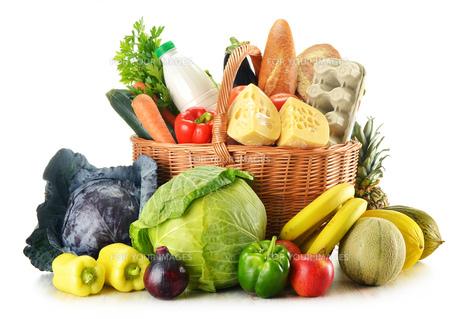 fruits_vegetablesの写真素材 [FYI00870907]