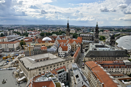 view over dresden,saxonyの素材 [FYI00870969]