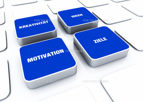pad concept blue - motivation creativity ideas objectives 6の写真素材 [FYI00871277]