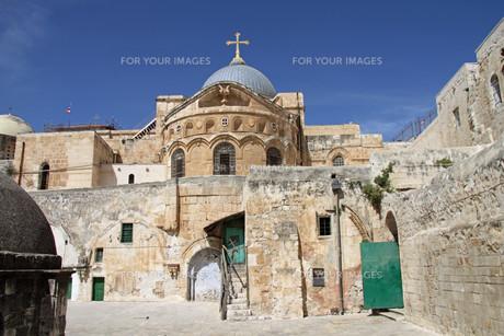 holy sepulcher in jerusalem. israelの素材 [FYI00871300]