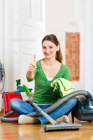 housekeeperの写真素材 [FYI00872646]