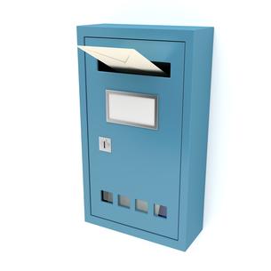 mailboxの素材 [FYI00872759]