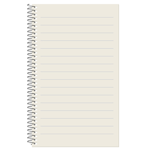 empty lined paper blockの写真素材 [FYI00872963]
