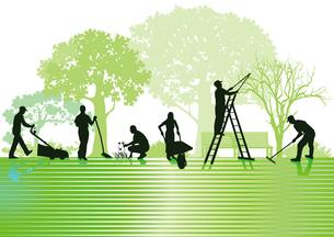 gardening and yard maintenanceの素材 [FYI00873164]