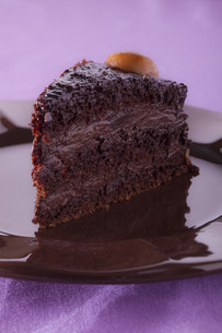 chocolate mousse cakeの素材 [FYI00873203]