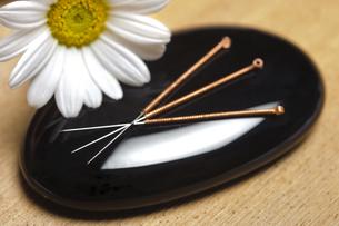 acupunctureの写真素材 [FYI00873581]