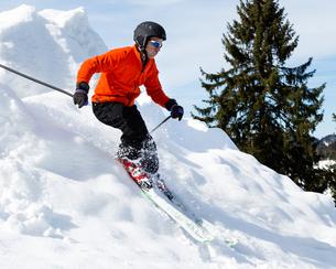 carvender skiersの写真素材 [FYI00873888]