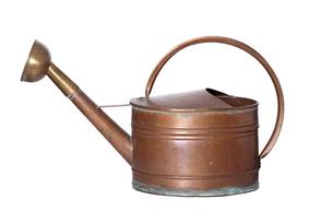 old copper wateringの写真素材 [FYI00874032]