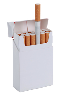open pack of cigarettes releasedの写真素材 [FYI00874272]