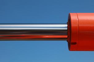 hydraulic on an excavatorの素材 [FYI00874276]