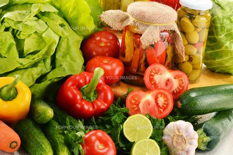 fruits_vegetablesの写真素材 [FYI00874531]