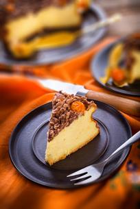 rustic cheesecakeの写真素材 [FYI00874532]