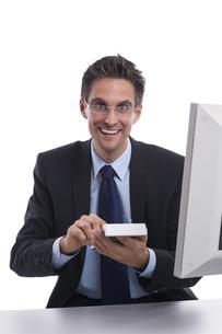 successful businessmanの素材 [FYI00874565]