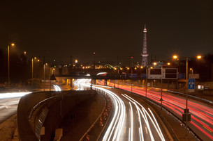 city highway,icc,radio tower,berlin # 3の写真素材 [FYI00875578]