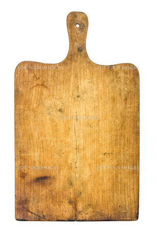old rustic wooden chopping boardの写真素材 [FYI00876144]