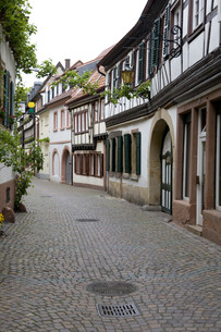 stra?enzug in the historic old townの写真素材 [FYI00876229]