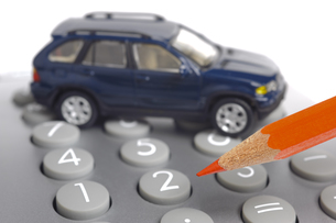 auto financingの写真素材 [FYI00876683]