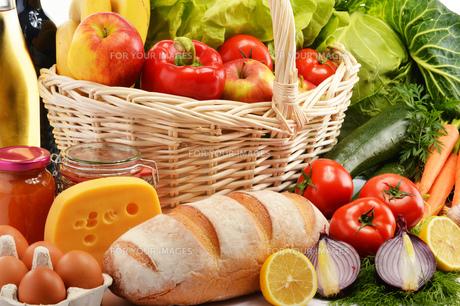 fruits_vegetablesの写真素材 [FYI00876885]