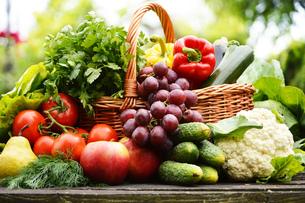 fruits_vegetablesの写真素材 [FYI00877415]