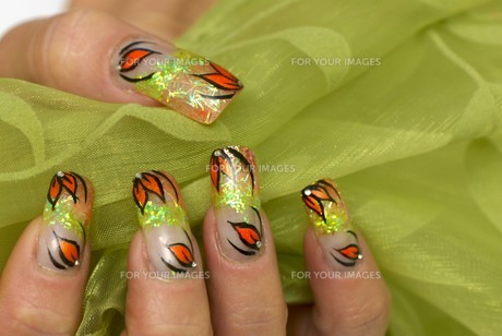 beauty nailの写真素材 [FYI00877478]
