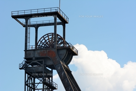 colliery tower in hammの写真素材 [FYI00877544]