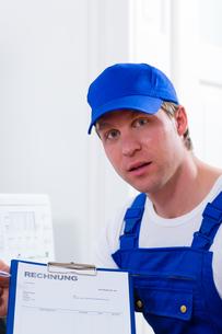 person providing a serviceの写真素材 [FYI00878540]