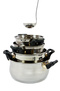 potsの写真素材 [FYI00879010]