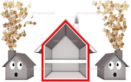 housesの素材 [FYI00879258]