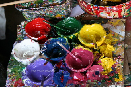 colouredの素材 [FYI00879356]