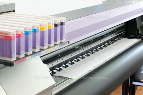 large format inkjet printersの素材 [FYI00879673]