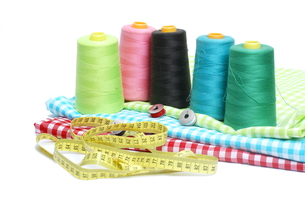 sewing materialsの写真素材 [FYI00879852]