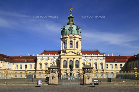 charlottenburg palaceの写真素材 [FYI00879915]