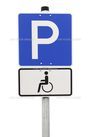 handicapped parkingの写真素材 [FYI00880062]