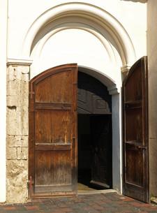 church doorの写真素材 [FYI00880133]