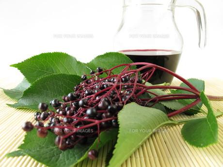 elderberry juiceの素材 [FYI00880968]