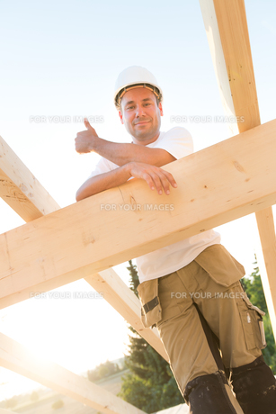 success in the construction industryの写真素材 [FYI00881030]