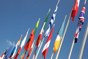 flagsの写真素材 [FYI00881288]