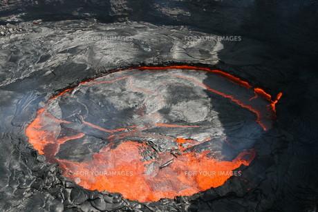 volcano erta ale in ethiopiaの写真素材 [FYI00881585]