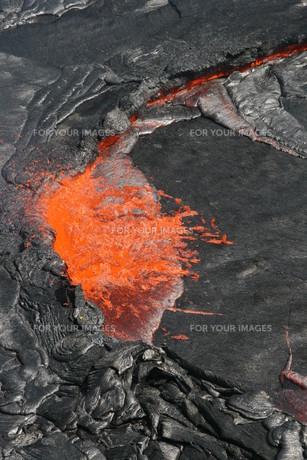 volcano erta ale in ethiopiaの写真素材 [FYI00881622]