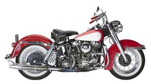 vintage motorcycleの写真素材 [FYI00881629]