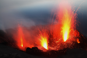 volcano erta ale in ethiopiaの写真素材 [FYI00881633]