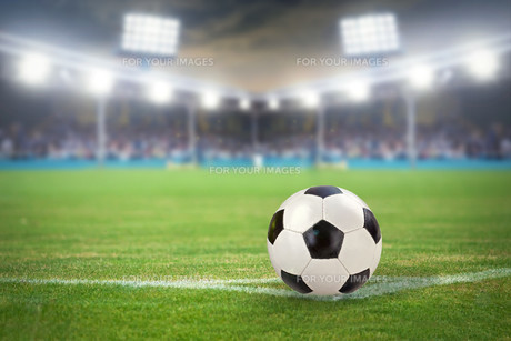football stadiumの写真素材 [FYI00881668]