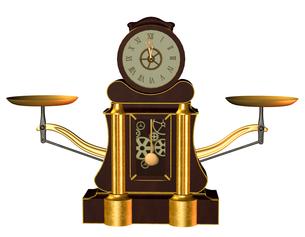 steampunk clockの写真素材 [FYI00882089]
