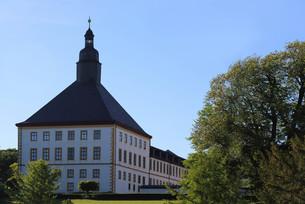 west tower - friedenstein palace in gothaの写真素材 [FYI00882485]