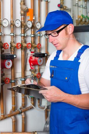 craftsman controls the heating systemの素材 [FYI00882505]
